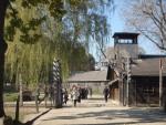 Brama do obozu Auschwitz I